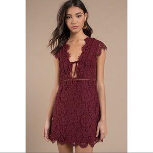 NWT Tobi lace shift dress